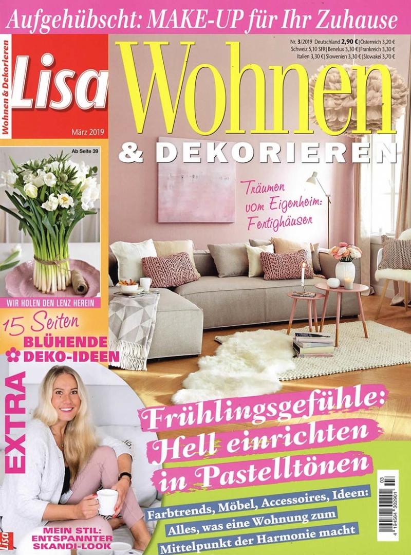 lisa wohnen dekorieren wohnen haus garten zeitschriften zeitschriften. Black Bedroom Furniture Sets. Home Design Ideas